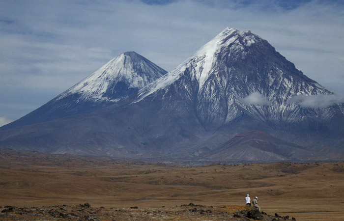 Klyuchevskaya Sopka The Kamchatka region in Russia is a home to many high mountains, but this 4750 meter volcano is the best of them all – also the tallest. It's an active volcano though, so you should probably bring those lava protection boots.