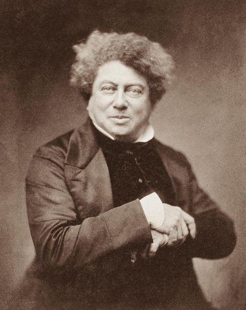 4. In 1835, Alexandre Dumas, author of