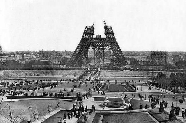 Eiffel Tower Construction (1888)