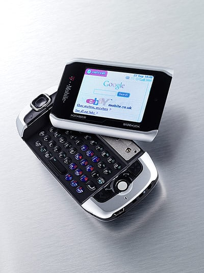 T-Mobile Sidekick (2002-): also known as the Danger Hiptop, Mobiflip and Sharp Jump, this could be considered the first modern smartphone.