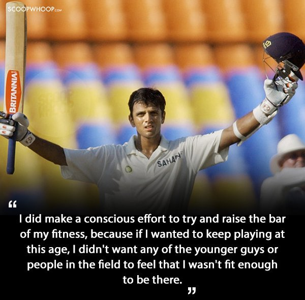 5.Quotes By Rahul Dravid