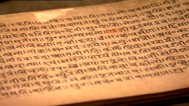 The Rig Veda was written more than 3800 years ago, making Hinduism one of, if not the oldest religion in the world