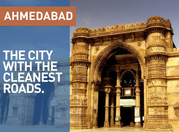 The city where 'Swach Bharat' actually came out as a winner. Woohoo, Ahmedabad!
