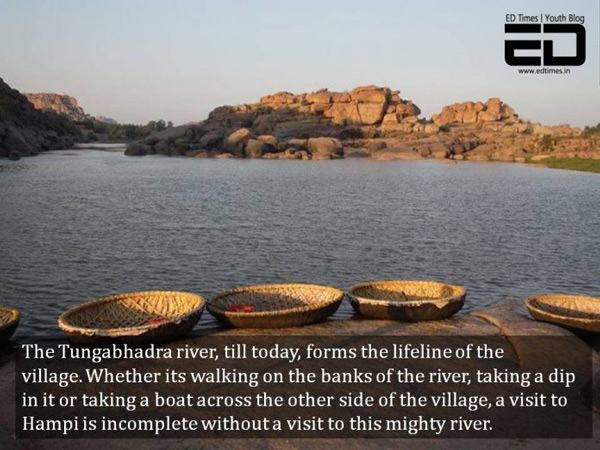 Take A Boat Ride Across The Tungabhadra
