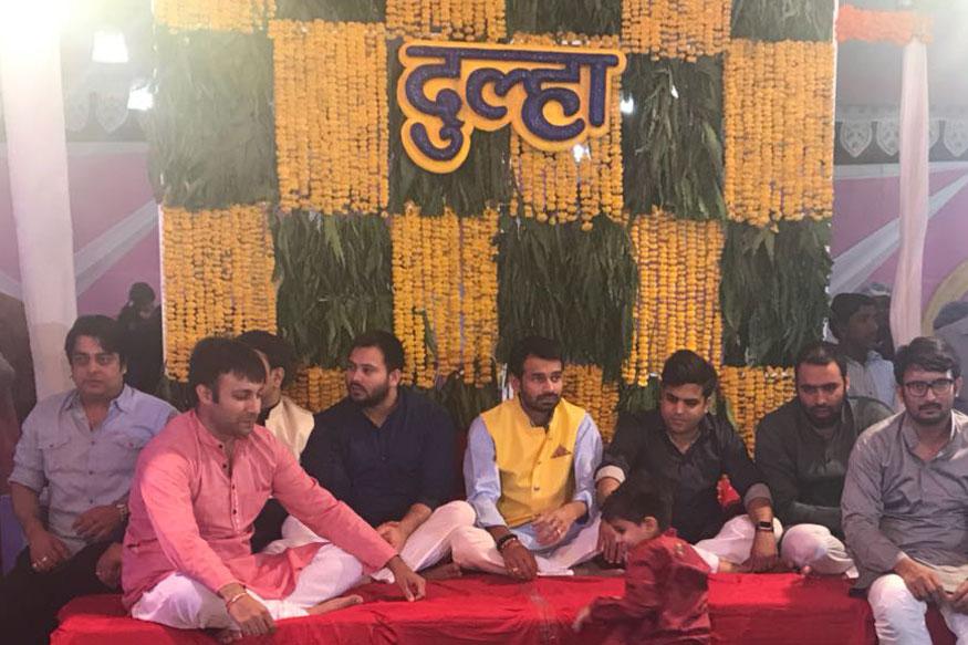 Rashtriya Janata Dal chief Lalu Prasad Yadav's son Tej Pratap Yadav