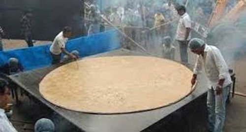 5. World's biggest chapati