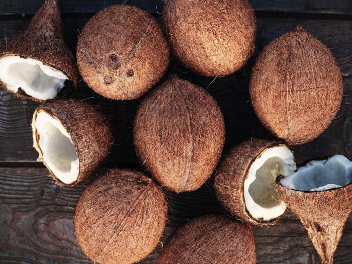 5. Coconuts