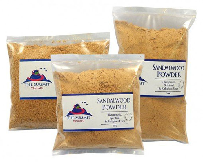 5. Sandalwood powder is an effective solution to deal with underarm odor as it has a soothing aroma that nullifies bad odour and prevents perspiration.