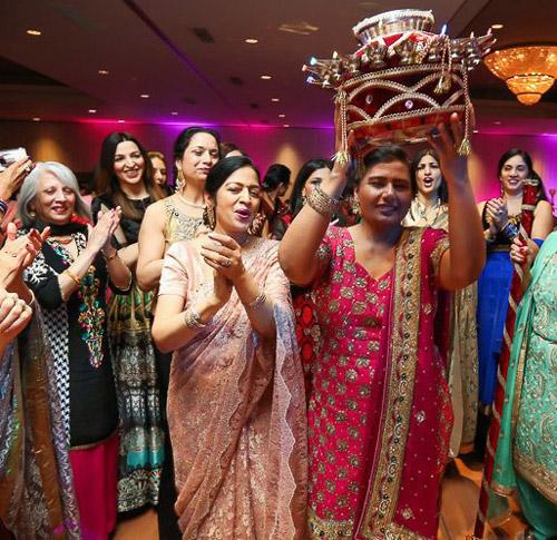 5. At Punjabi weddings, when someone says