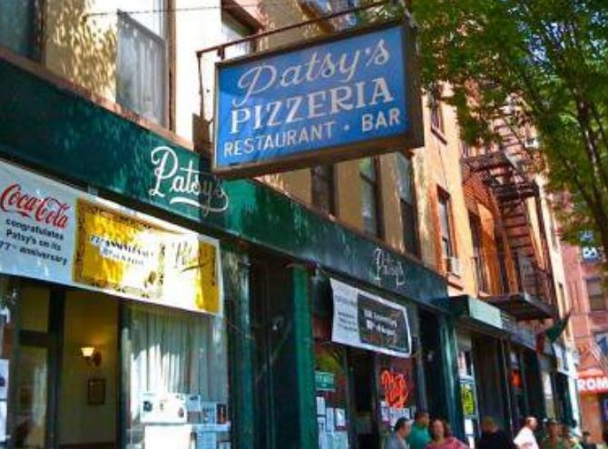 5. At first, pizzas were sold by the pie. But in 1933, Patsy Lancieri of Patsy