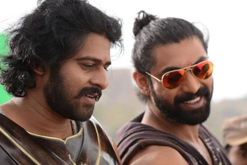 Prabhas definitely needs no aviators to look cool.
