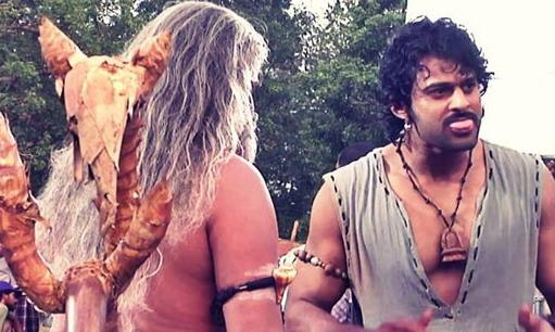 Prabhas seems to have had a lot of fun shooting for the film. As did we, while watching it!