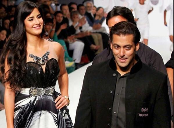 This picture where Katrina is caught looking at Salman as if he's everything she could ever need.