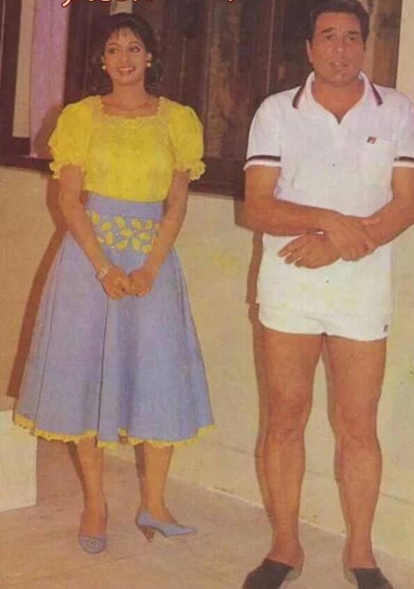 Sridevi & Dharmendra