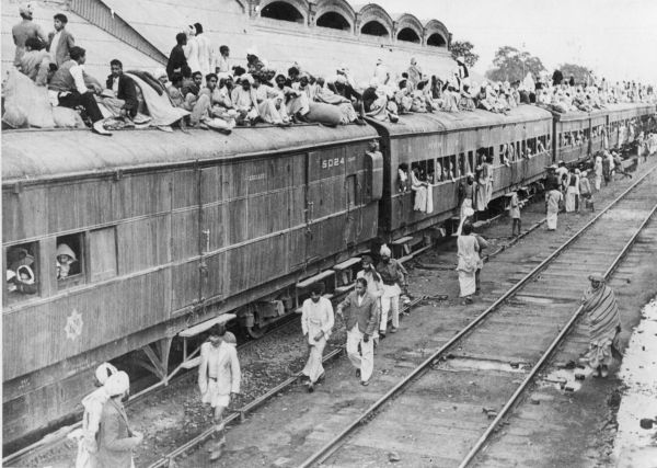 Sometime in the year 1950, a train full of refugees arrives at Ambala, Punjab