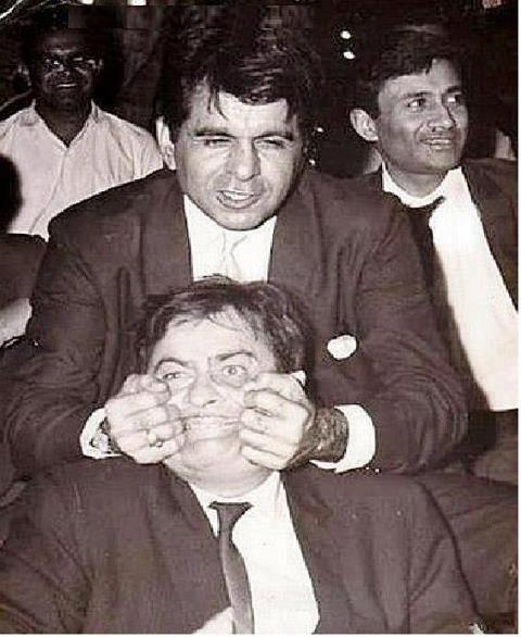 Dev Anand, Dilip Kumar and Raj Kapoor in a single pic