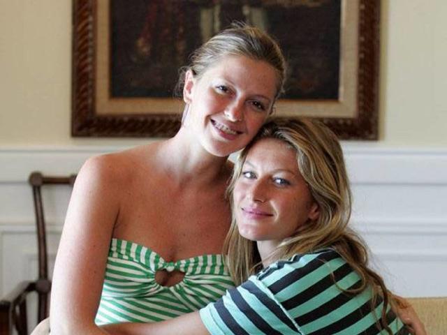 Gisele and Patricia Bündchen