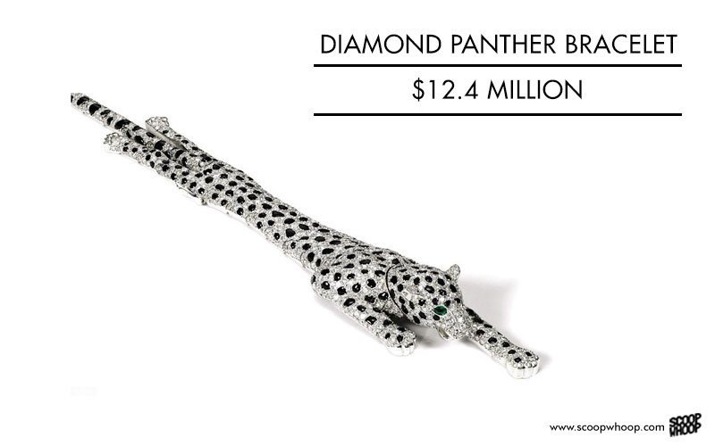 Diamond Panther Bracelet, 12.4 million USD
