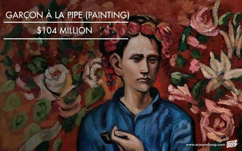 Garçon à la pipe (painting), 104 million USD