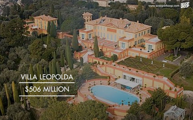 Villa Leopolda, 506 million USD