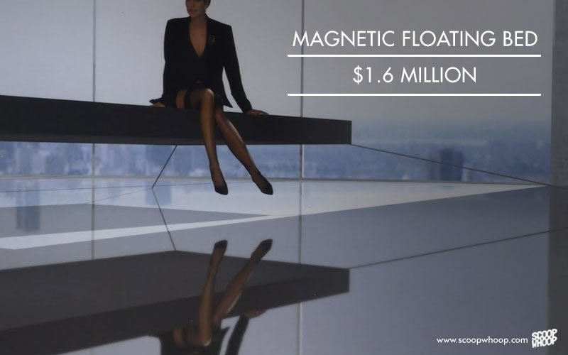 Magnetic floating bed, 1.6 million USD