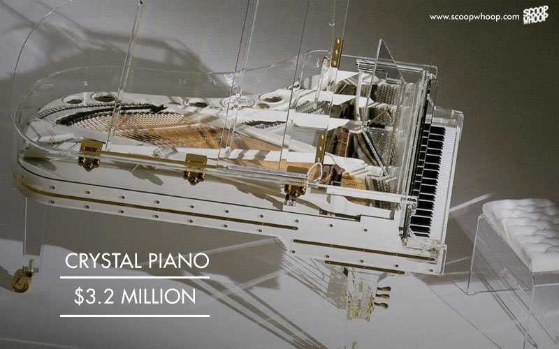 Crystal Piano, 3.2 million USD