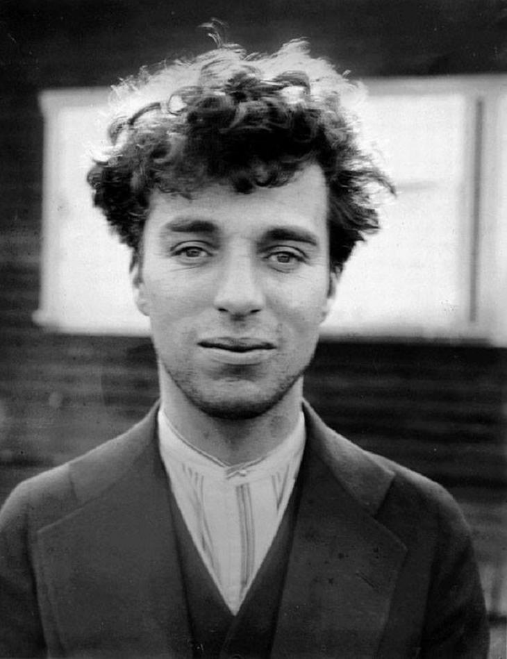 A young Charlie Chaplin, aged 27, in 1916.