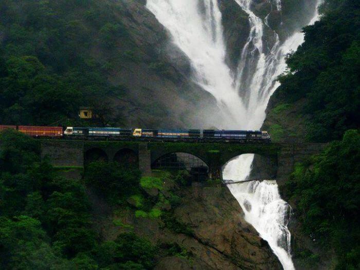 Dudhsagar falls, Goa – The ivory cascades
