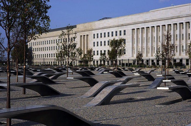 The September 11th Memorial At The Pentagon