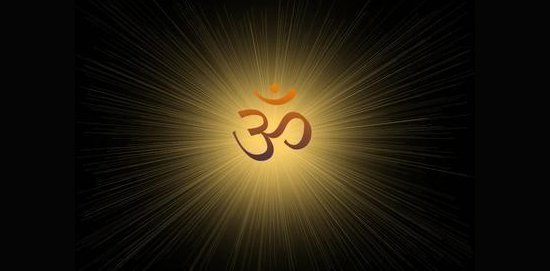 Om is actually believed to be the manifestation of consciousness in sound form