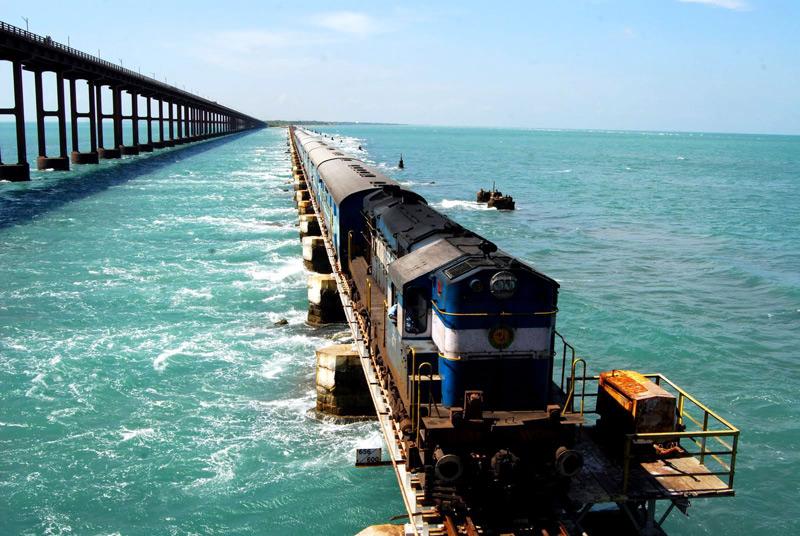 Rameswaram Rail Route