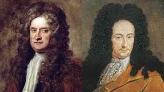 Isaac Newton and Wilhelm Leibniz