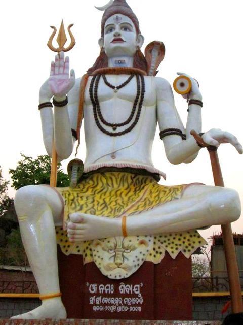 Bhanjanagar Lord Shiva 61 ft (18.5 metres) Ganjam, Odisha