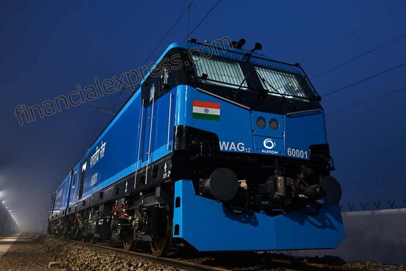 These new electric locomotives will be used for freight trains, and will eventually haul trains on the Dedicated Freight Corridors.