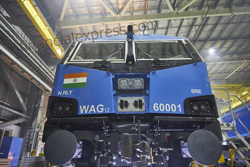 The electric locomotives will be able to attain speeds as high as 120 kmph - a fact that will greatly facilitate in faster movement of freight.