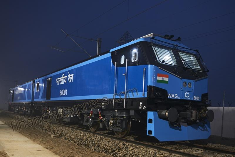 The 800 electric locomotives for Indian Railways will mean that freight trains on the railway network will be able to travel at faster speeds and carry heavier tonnage.