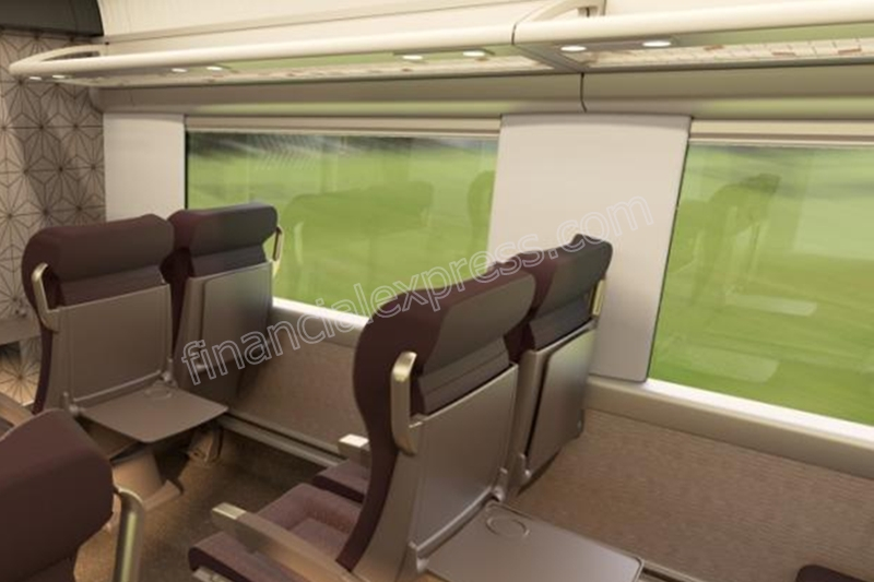 The luggage rack of Train 18 will be more spacious so that passengers can park more luggage.
