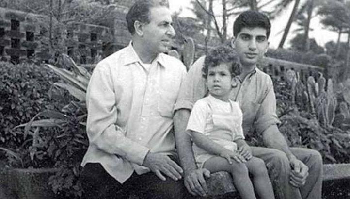 10. The Tata family: Naval, Ratan & Noel Tata together.
