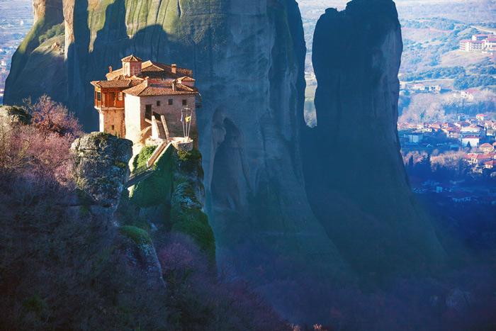 10.The Rousanou Monastery. #