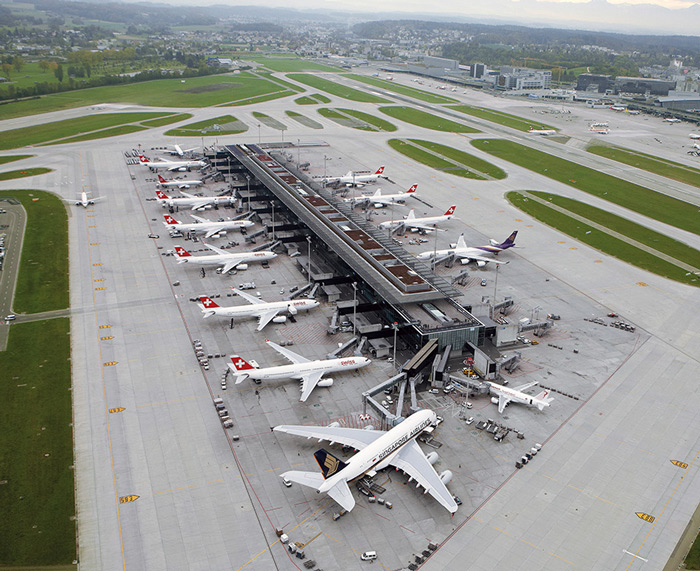 Zurich Airport (Switzerland): Switzerland