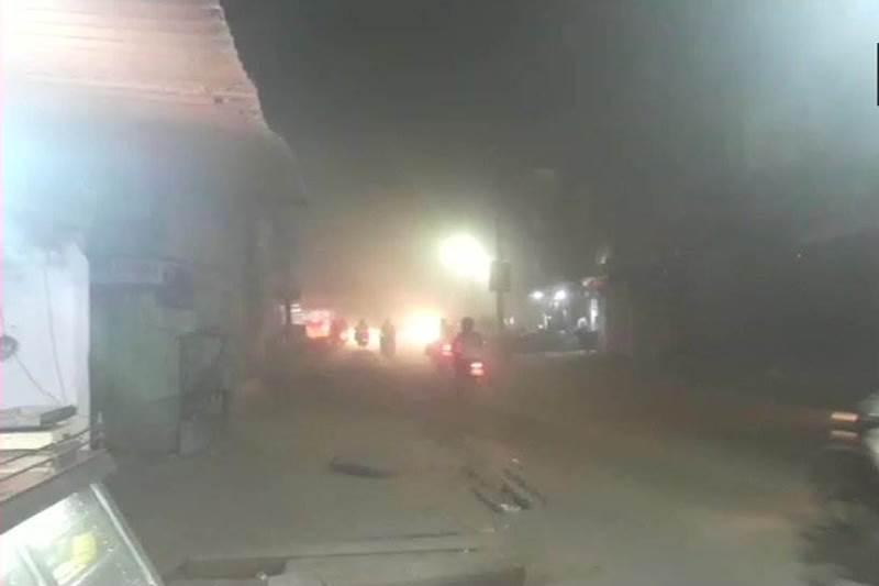 Severe dust storm hit Rajasthan