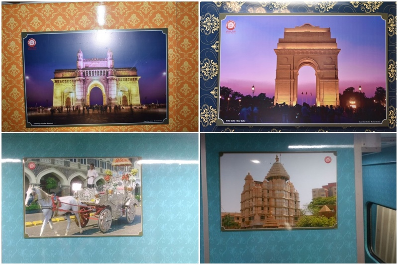 Mumbai-Delhi Rajdhani Express: Honouring the cultural heritage and monuments of Delhi, Mumbai and Gujarat,