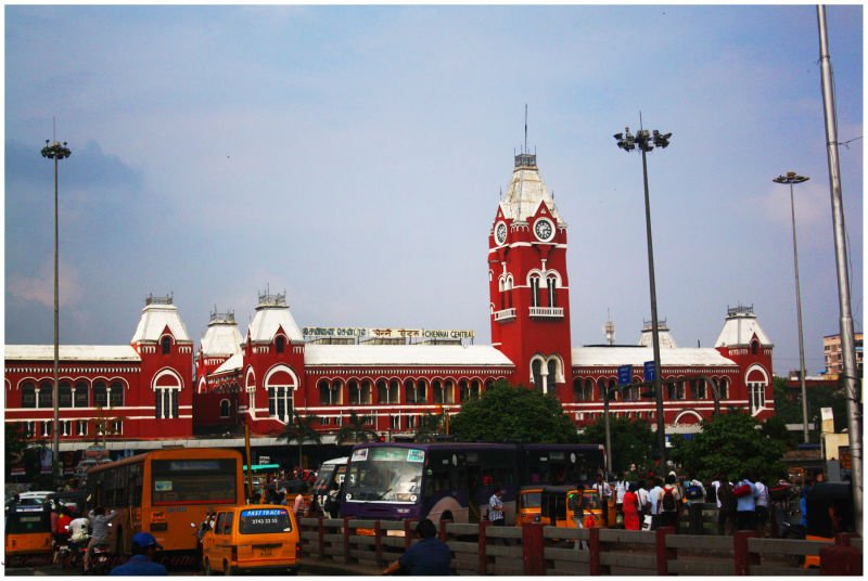 15. Travel through history at Chennai Central