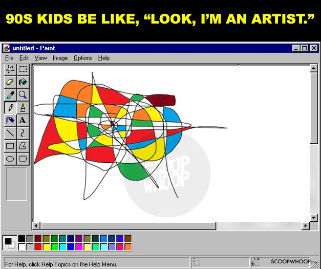 8. MS Paint - Because no internet.