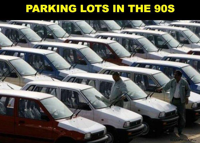 21. Because Maruti 800 will always be a precious memory.