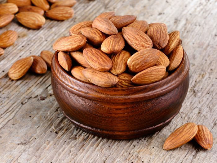 9. Almonds
