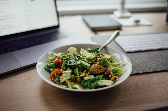 You Eat Meals at Your Desk