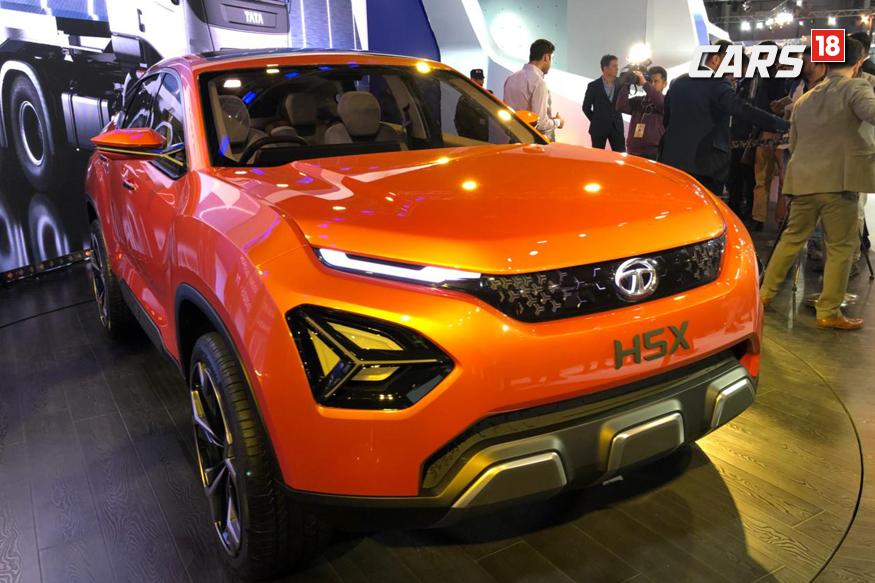 Tata Motors H5X concept at 2018 Auto Expo.