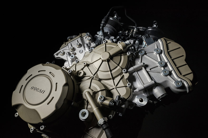 Ducati Panigale V4 is the most powerful 4-cylinder engine in a