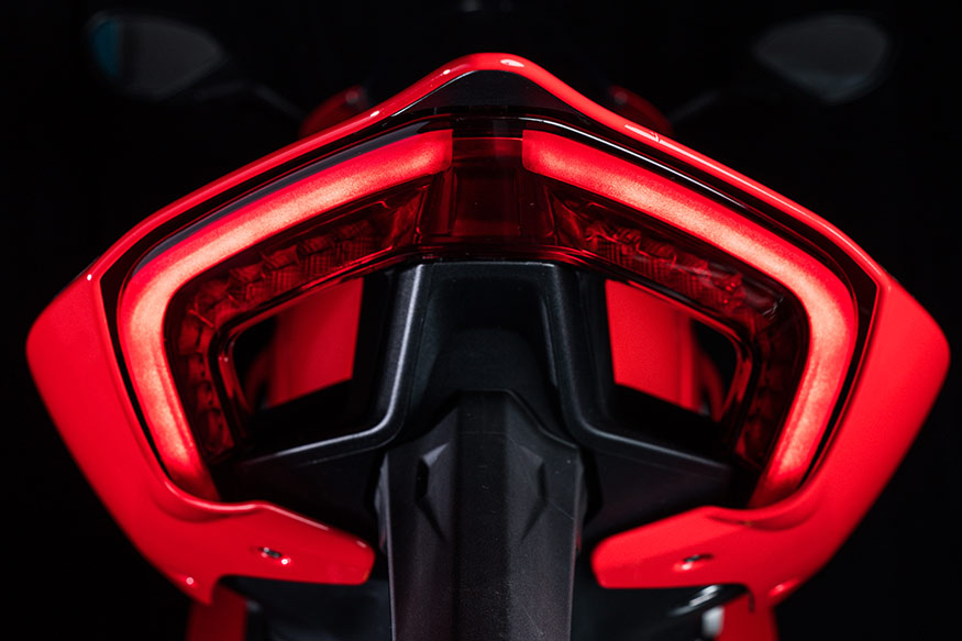 Ducati Panigale V4 has one of the best-looking tail lights on any motorcycle in the world.